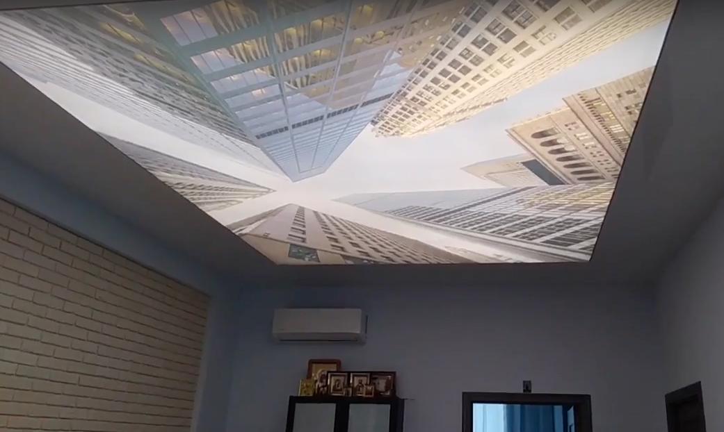 Потолки double vision – где стоит устанавливать и какие материалы нужны для монтажа