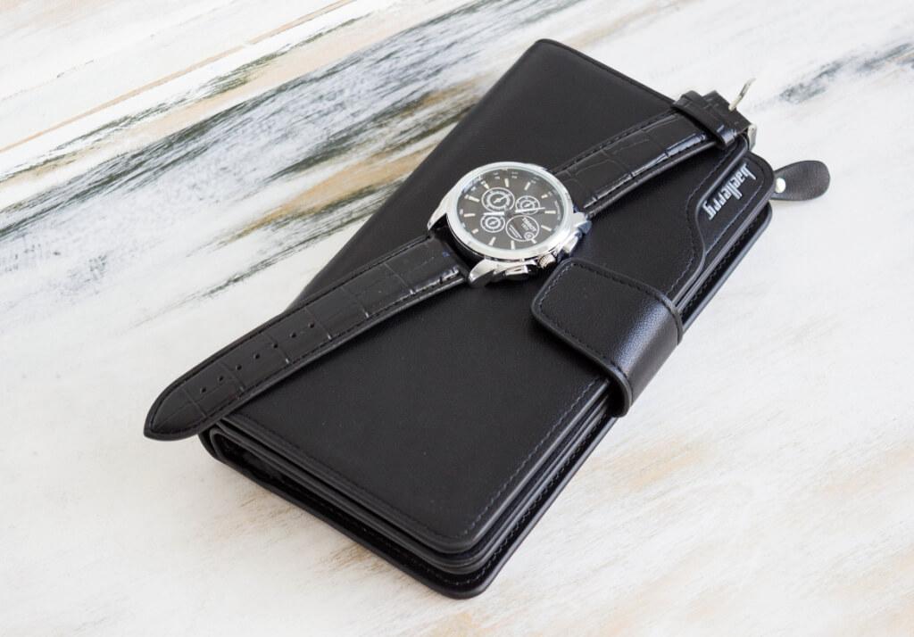 bb630f2540f2 Купить портмоне Baellerry Business за 1490р + часы в подарок